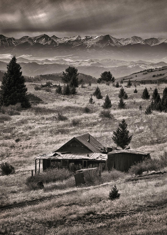 Gold Mining Ghost Town by Steve White