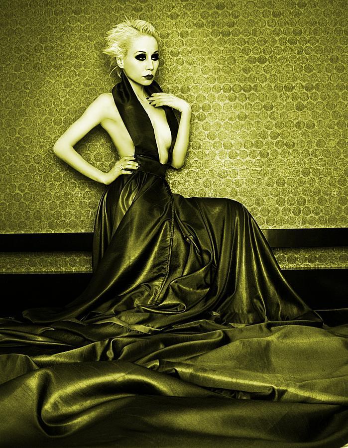Glow Photograph - Gold by Pamela White