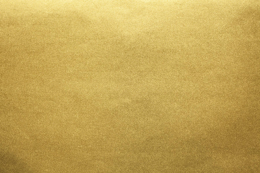 Gold paper texture background Photograph by Katsumi Murouchi