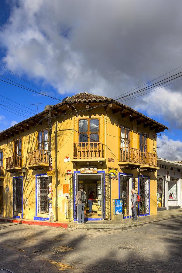 San Cristobal Photograph - Golden Afternoon In San Cristobal De Las Casas by Mark Tisdale
