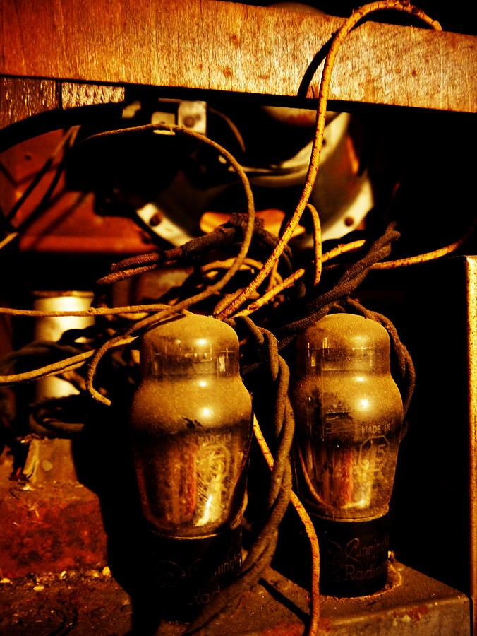 Valve Photograph - Golden Age Of Wireless by Richard Reeve