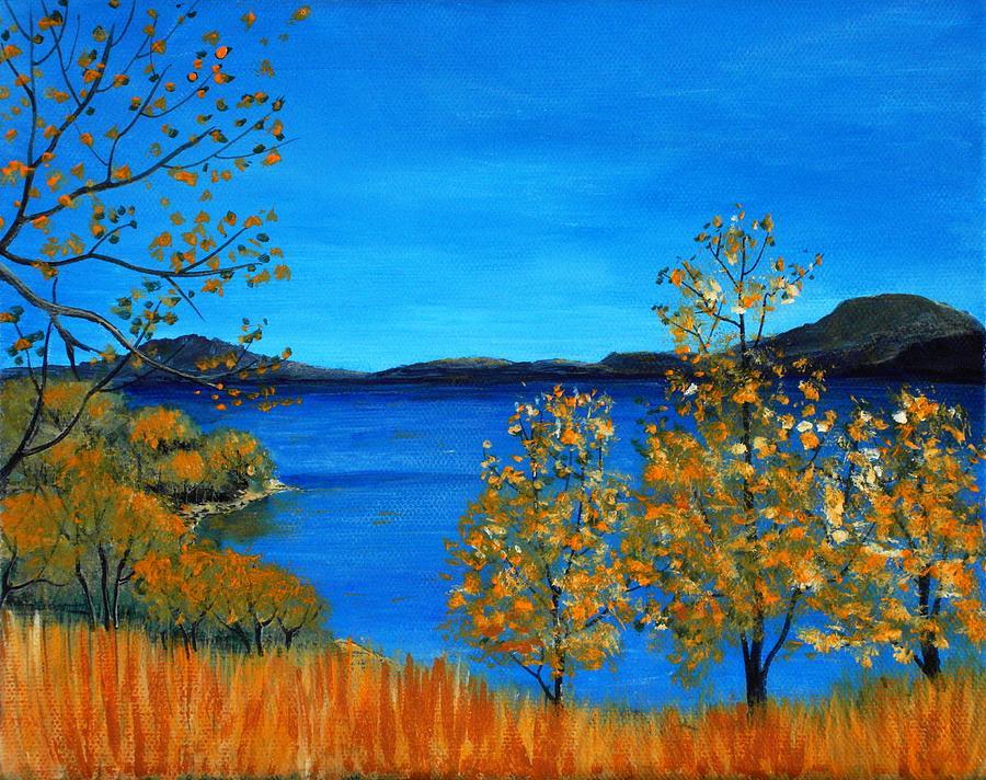 Malakhova Painting - Golden Autumn by Anastasiya Malakhova