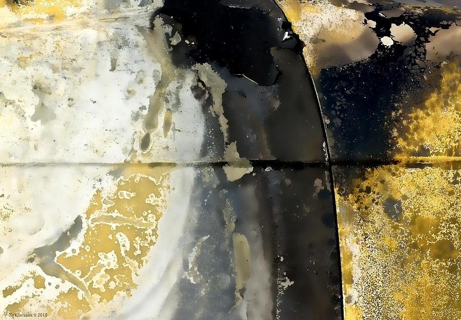 Yellow And Black Photograph - Golden Bias Trip by Ole Klintebaek