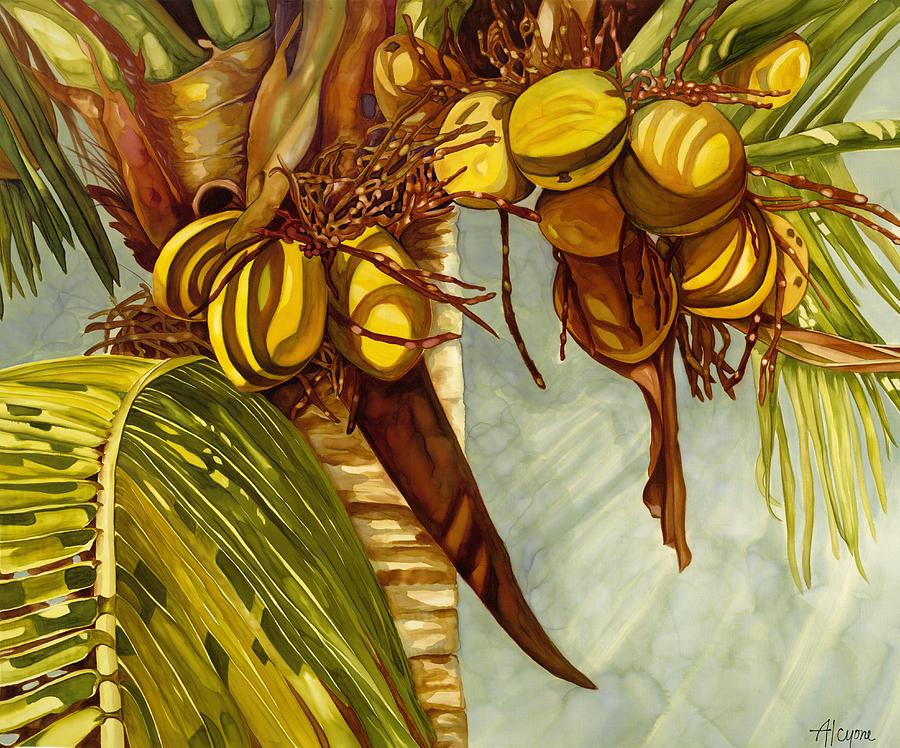 Golden Coconuts by Artimis Alcyone