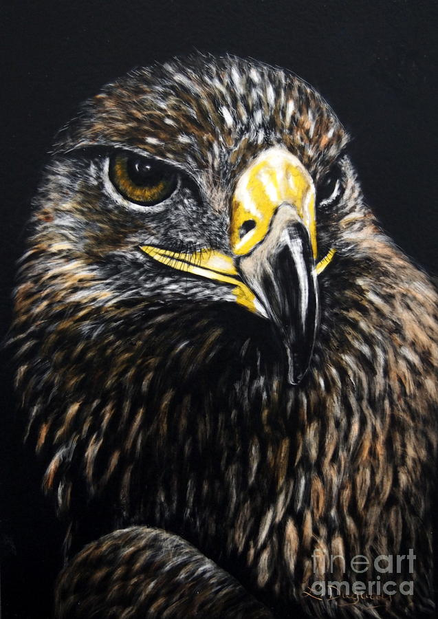 Golden Eagle by Lora Duguay