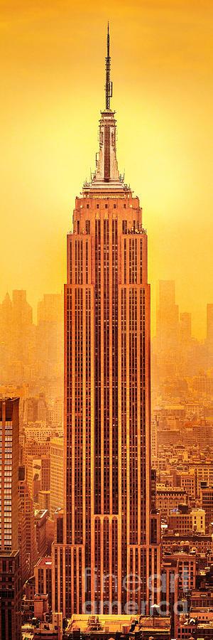 Golden Empire State Photograph