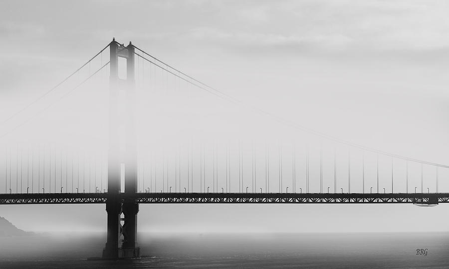 San Francisco Photograph - Golden Gate Bridge - Fog And Sun by Ben and Raisa Gertsberg