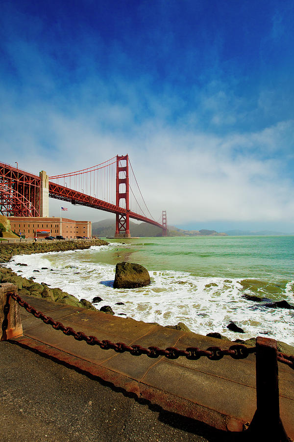 Golden Gate Bridge Photograph by Geri Lavrov