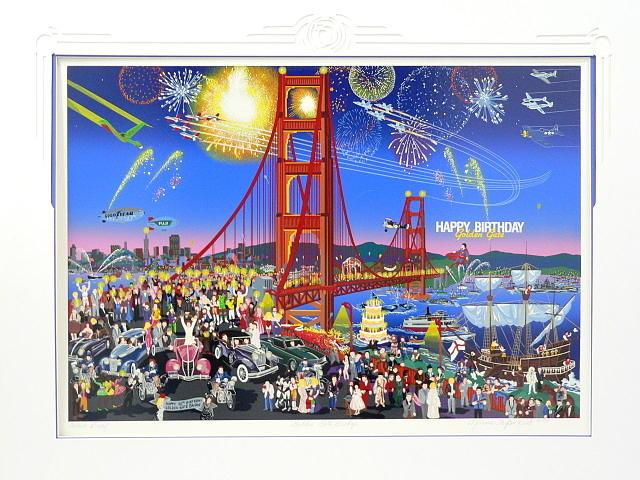 Golden Gate Bridge Mixed Media by Melanie Taylor Kent