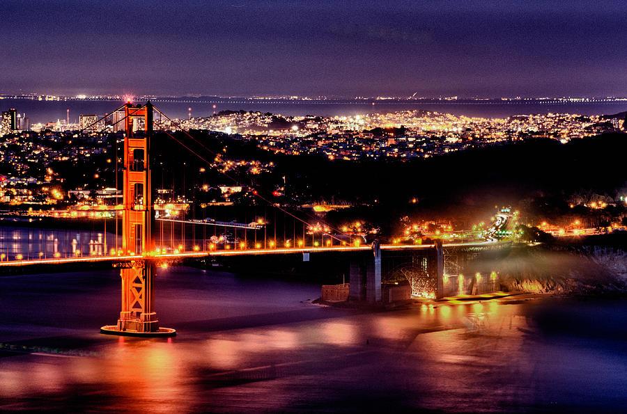 Golden Gate Bridge Photograph - Golden Gate Bridge by Robert Rus