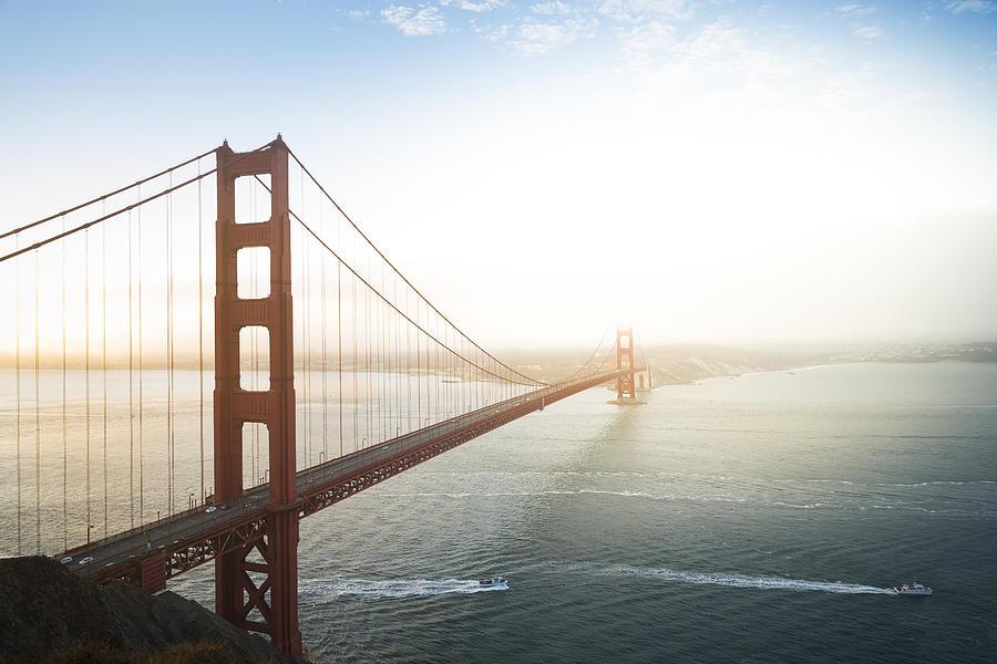 Golden Gate Bridge, San Francisco, California, USA Photograph by Elena Pueyo