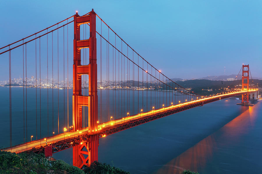 Golden Gate Bridge, San Francisco Photograph by Deimagine