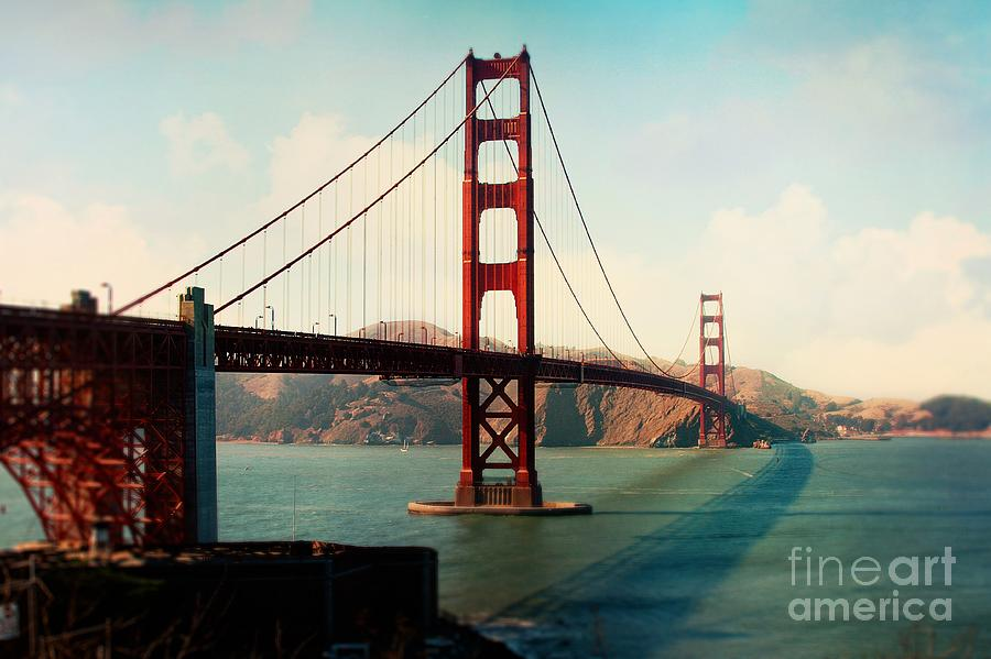 Golden Gate Bridge Photograph - Golden Gate Bridge by Sylvia Cook