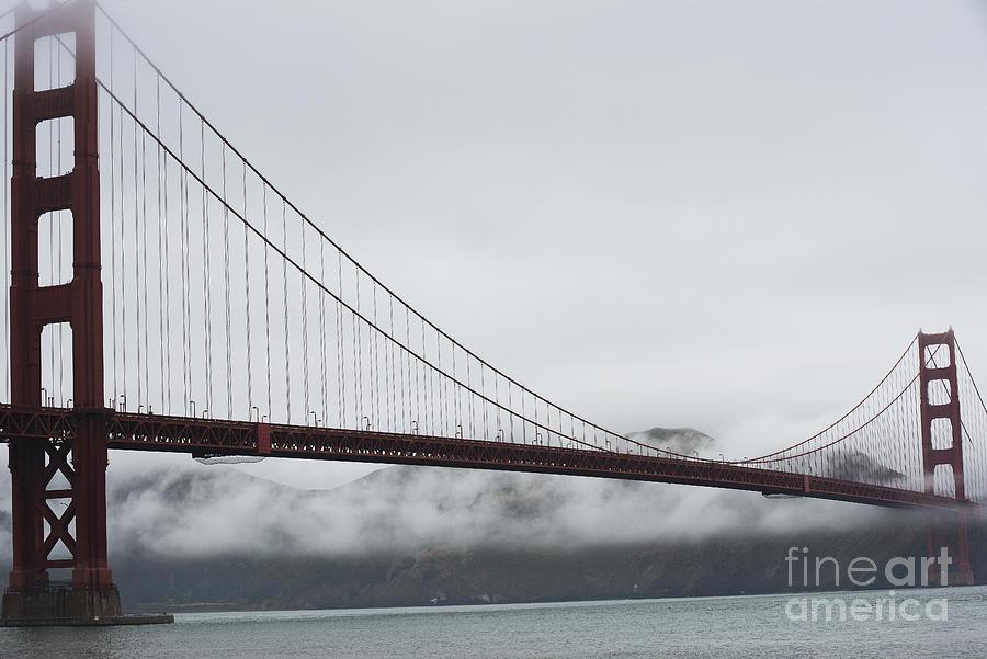 Golden Gate Photograph - Golden Gate By The Bay by David Bearden