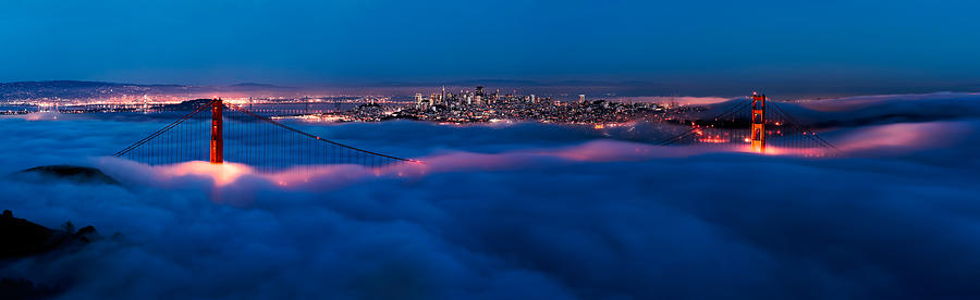 California Photograph - Golden Gate Bridge, San Francisco by Francesco Emanuele Carucci