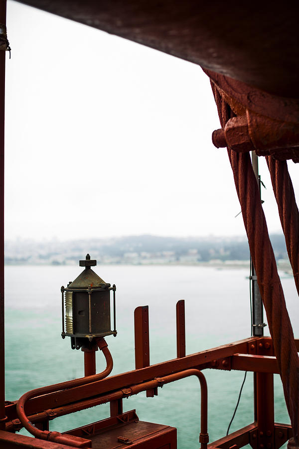 Golden Gate Bridge Photograph - Golden Gate Lantern by SFPhotoStore