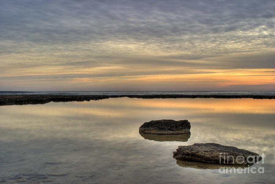 Abstract Photograph - Golden Horizon by Stelios Kleanthous