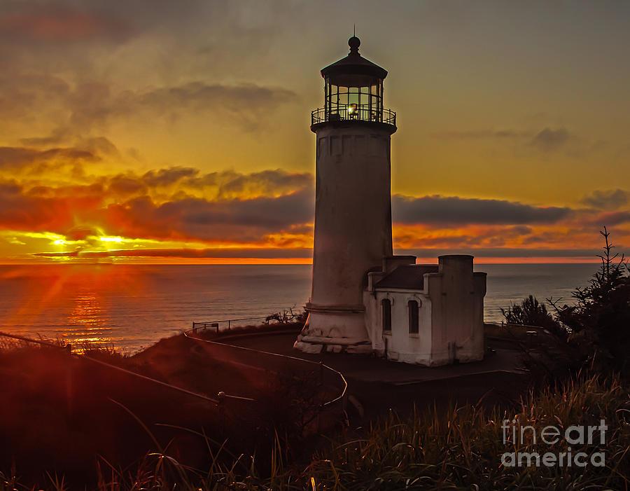 Sunset Photograph - Golden Hour  by Robert Bales