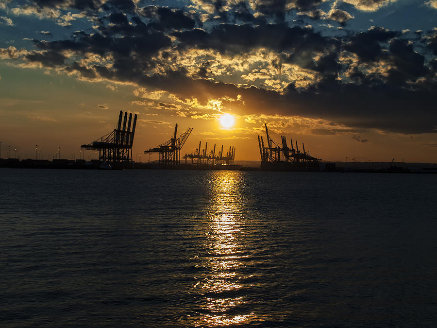Sunset Photograph - Golden Hour by Wayne Gill