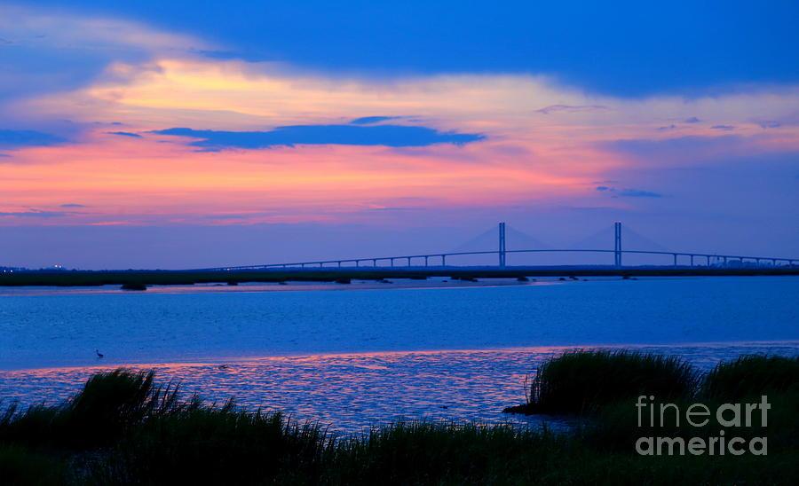 Golden Isles Bridge Photograph by Marty Fancy