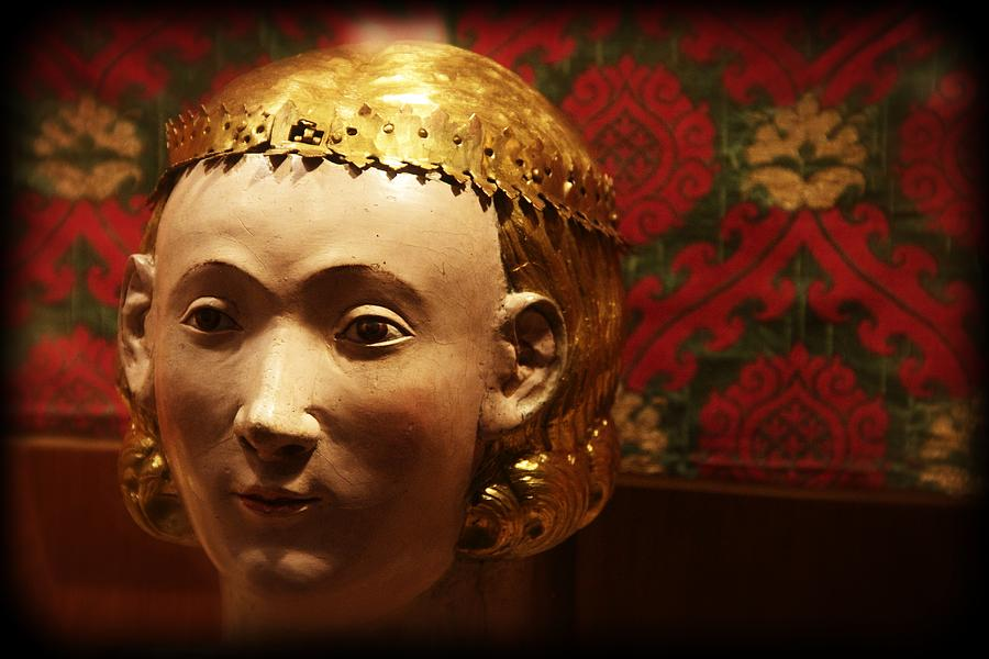 Lady Photograph - Golden Lady by Alice Gipson