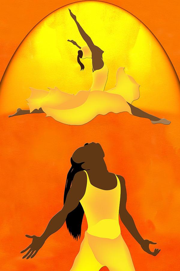 golden lady by Terry Boykin