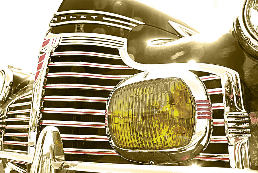 Car Photograph - Golden Memories by Justin  Curry