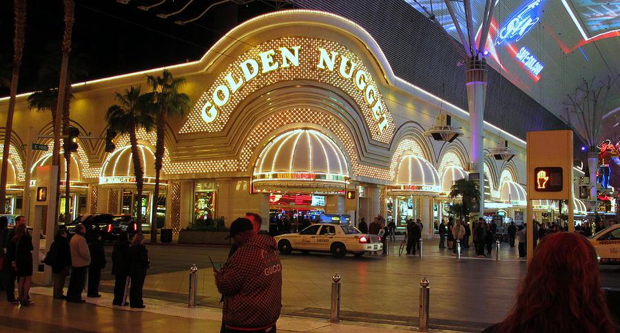 Golden Nugget Photograph - Golden Nugget by Kay Novy
