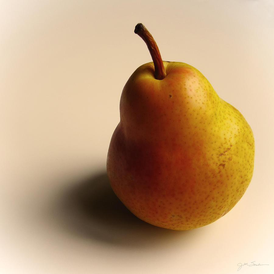 Pear Photograph - Golden Pear by Julie Magers Soulen