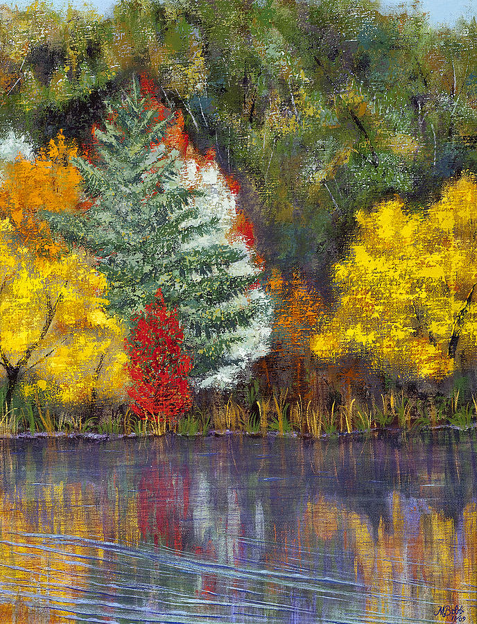 Landscape Painting - Autumn Tapestry by Margaret Bobb