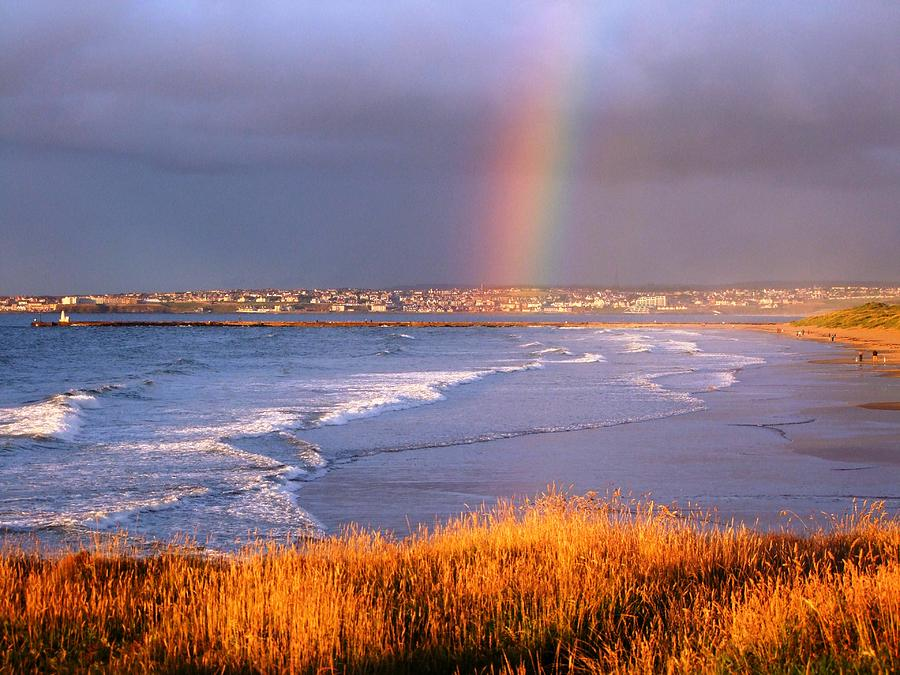Golden Rainbow by Nigel Cameron