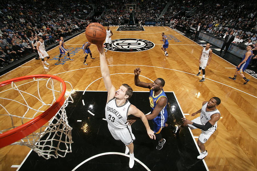 Golden State Warriors V Brooklyn Nets Photograph by Nathaniel S. Butler