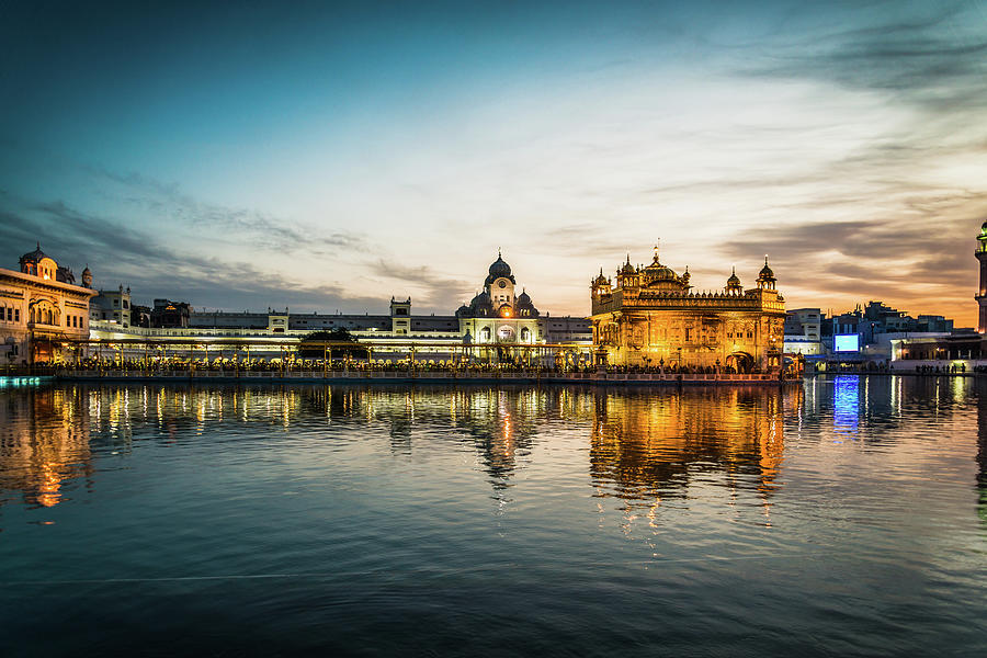Golden Temple Photograph by Epics.ca