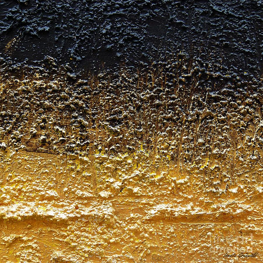 Abstract Art Painting - Golden Time - Abstract by Ismeta Gruenwald