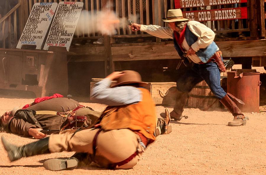 Goldfield Gunfighters Photograph by Alex Zabo