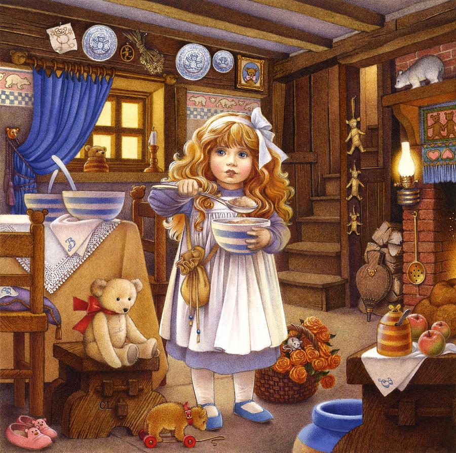 златовласка и три медведя автор сказки