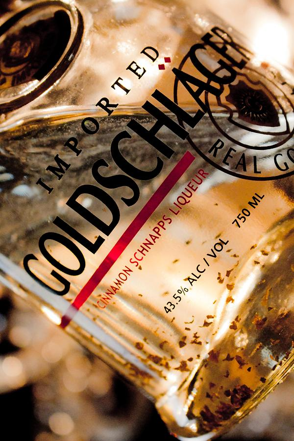 Goldschlager Photograph - Goldschlager by Mamie Thornbrue