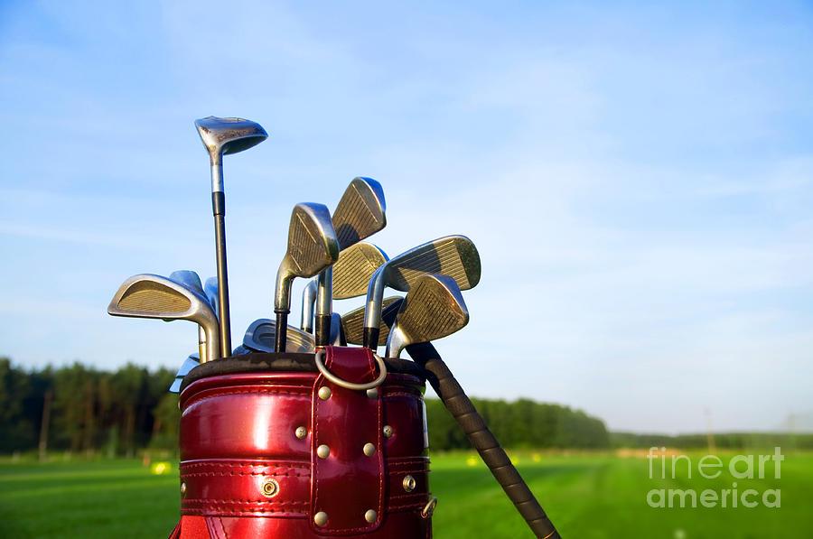 Golf Photograph - Golf Gear by Michal Bednarek