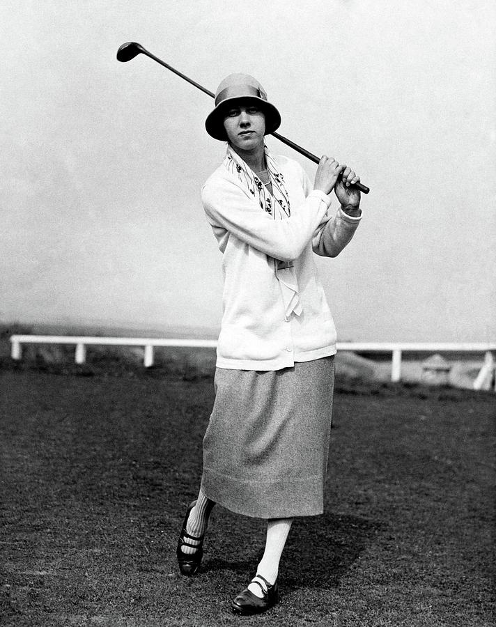 Golfer Joyce Wethered Photograph by Acme