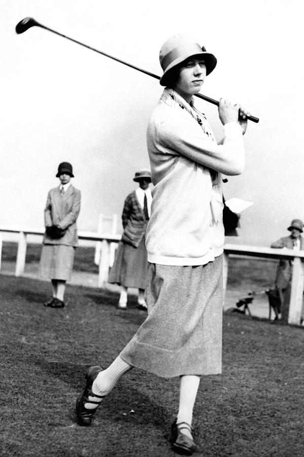 Golfer Joyce Wethered Photograph by Photo-Illustration Company