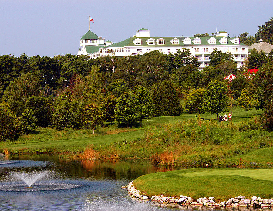 Golfing at the Grand by Pristine Images