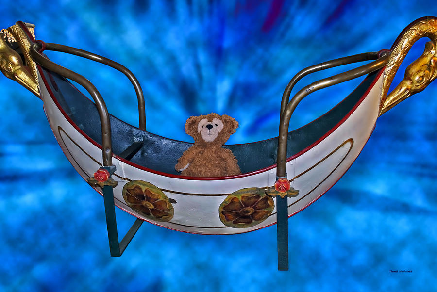 Fantasy Photograph - Gondola Bear by Thomas Woolworth