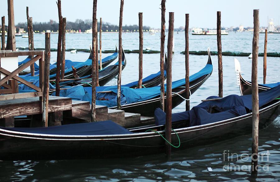 Gondolas Photograph - Gondolas by John Rizzuto