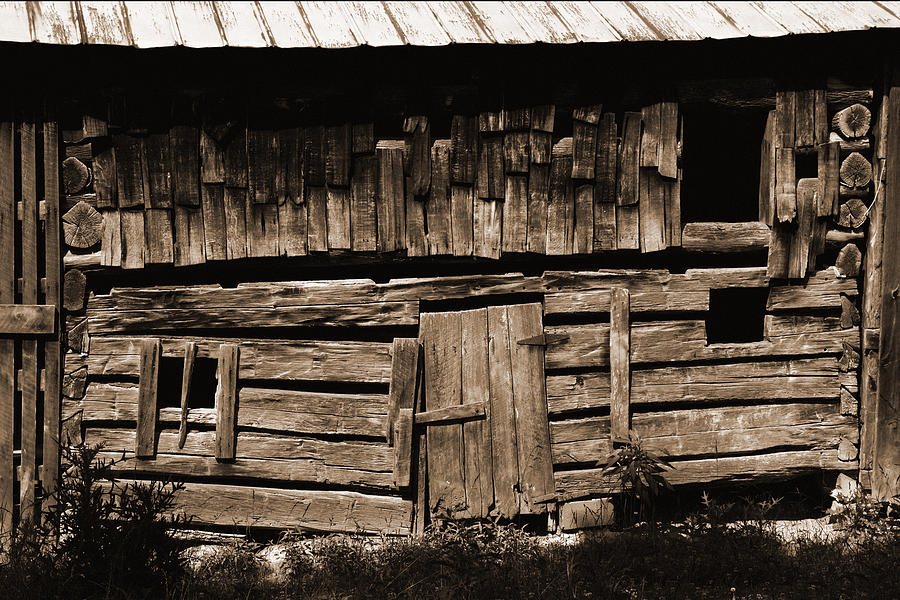 Weathered Photograph - Gone But Not Forgotten by Heather Kenward