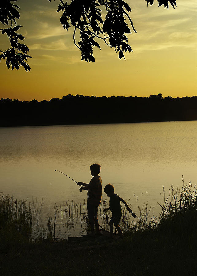 Fishing Photograph - Gone Fishin by Mary Ely