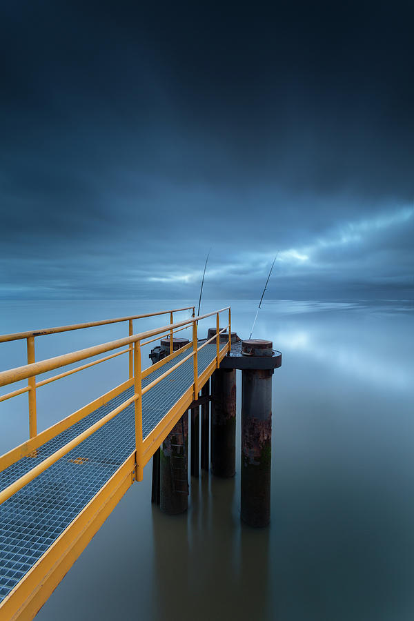 Gone Fishing Photograph by Landscape Photography