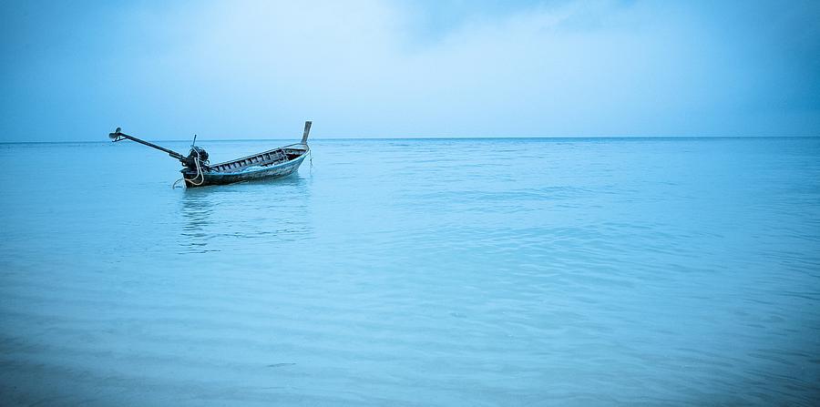 Thailand Photograph - Gone Fishing by Shari Mattox