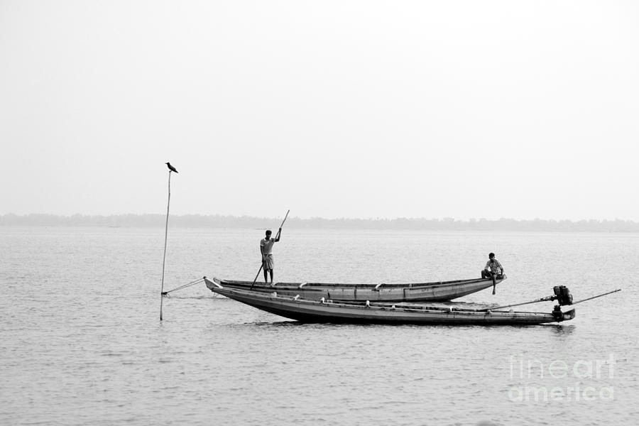 Fishing Photograph - Gone Fishing by Vishakha Bhagat