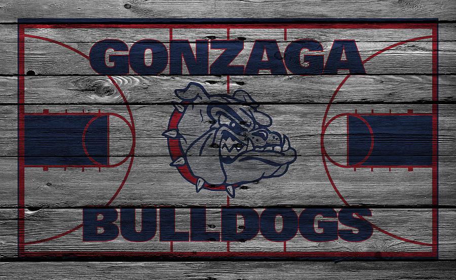 Bulldogs Photograph - Gonzaga Bulldogs by Joe Hamilton