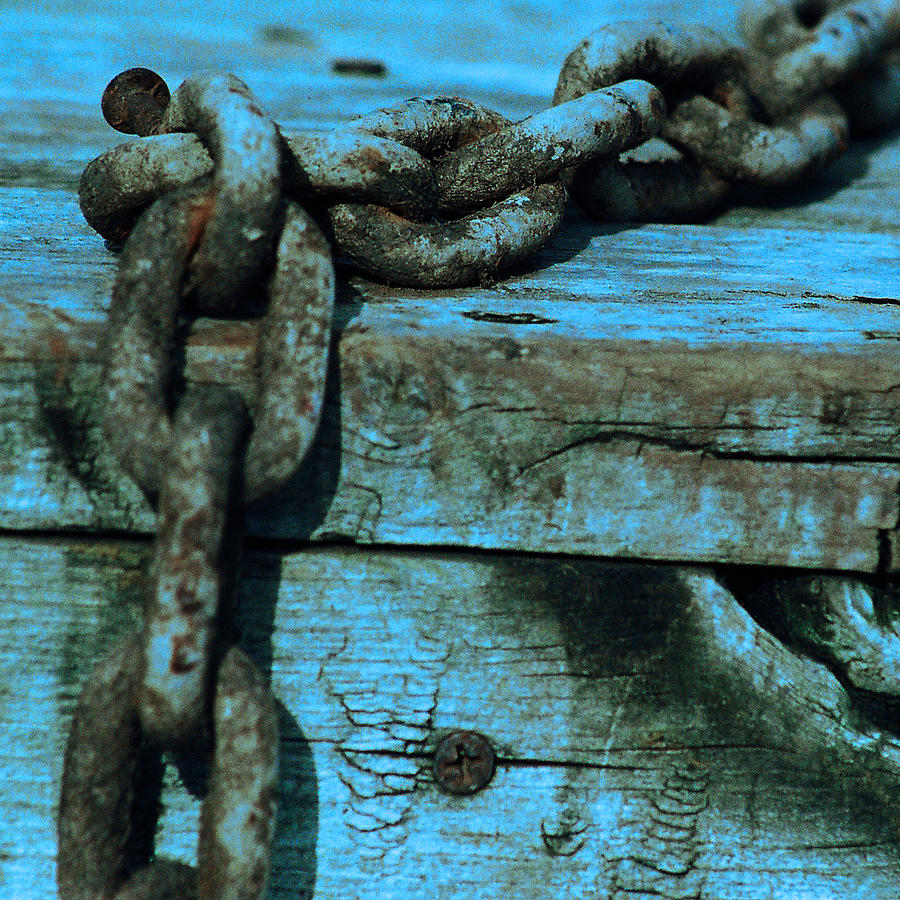 Chain Photograph - Good As New by Jacob Cane